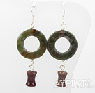 Wholesale india agate earrings