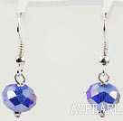 12mm faceted spaekling crystal earrings
