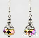 Wonderful 10*14Mm Shinning Crystal Ball Dangle Earrings With Fish Hook