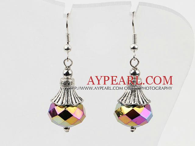 Wonderful 10*14Mm Shinning Crystal Ball Dangle Earrings With Fish Hook