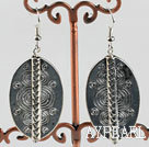 Lovely Ccb Charm Tibet Silver Dangle Earrings With Fish Hook