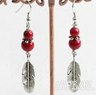 blood stone earrings