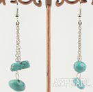 Turquoise earring