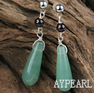 Wholesale aventurine garnet earrings