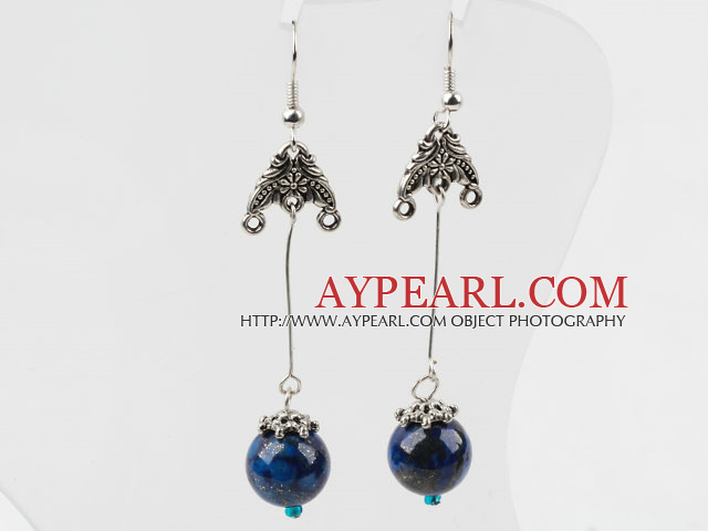 Simple Design Lapis Earrings