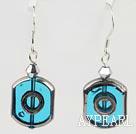 Wholesale crystal glass earrings