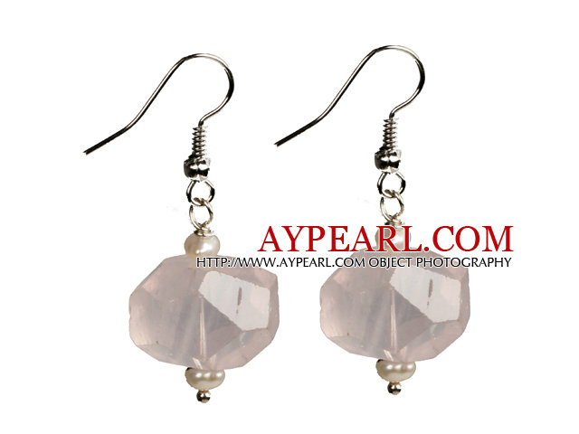 Simple Style White Color Seashell Earrings