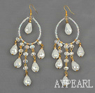 Wholesale Assorted Drop Shape Opal Crystal Earrings