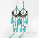 New Design Assorted Turquoise Stone Earrings