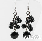 Wholesale New Design Assorted Black Agate Earrings