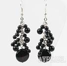 Wholesale Black Series Assorted Black Agate Earrings