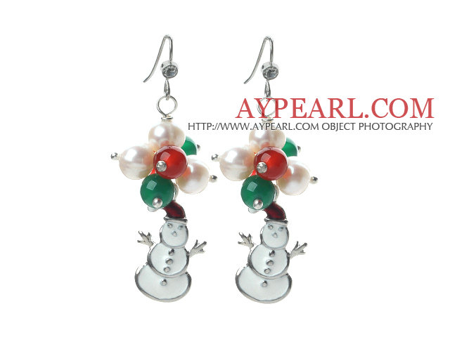 aypearl.com christmas pearl earrings
