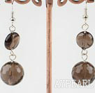 Wholesale smoky quartze earrings