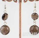 Wholesale smoky quartze earrings