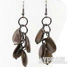 Wholesale New Design Drop Shape Shell Dangle Earrings