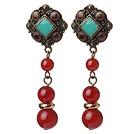 Wholesale blue jasper earrings