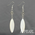 Wholesale white shell earrings