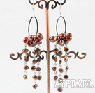 Wholesale dyed pearl earrings