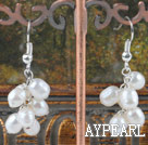 Wholesale white pearl earrings