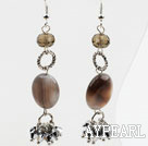 Wholesale New Design Persian Agate and Crystal Dangle Earrings