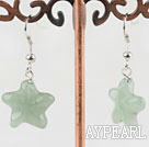 aventurine starfish earrings
