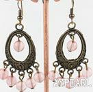 Wholesale cherry quartz earrings