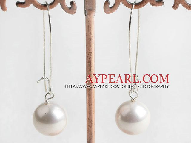 Seashell σκουλαρίκια χάντρες