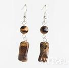 Wholesale tiger eye earrings