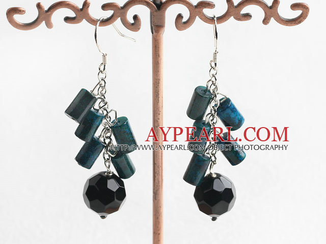 phenix crystal earrings