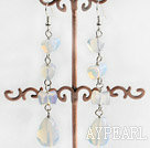 Wholesale tear drop opal earrings