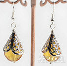 lovely citrine earrings