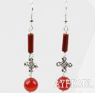 Wholesale Dangle Style Lovely Carnelian Long Earrings