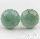 Wholesale Classic and Simple Design Round Aventurine Stone Studs ( Metal Needle )