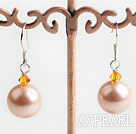Wholesale Austrian crystal seashell bead earrings