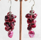 Wholesale dyed pearl earring