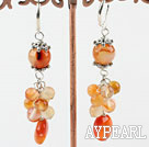 Wholesale agate earrings