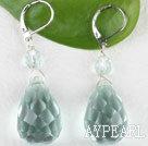 Wholesale blue crystal earring