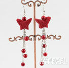 Wholesale Cinnabar earrings