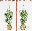 Wholesale pearl crystal earring