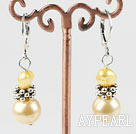 Wholesale pearl sea shell bead earring