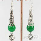 Wholesale hot new style Malay jade earrings