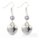Wholesale dyed pearl tibet silver earrings