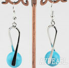 blue turquoise earring