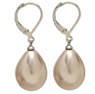 Wholesale 12*16 light brown drop shape earrings