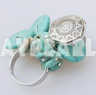 Wholesale fashion turquoise ring