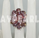 Wholesale fashion crystal ring
