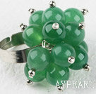 Wholesale aventurine jade finger ring