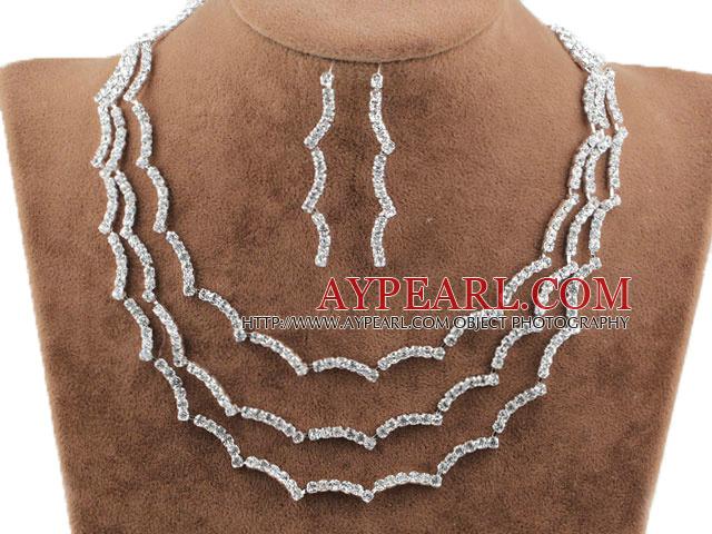 Aliaj De Moda Cu Immitation Pearl şi Nunta Bijuterii Pietre Set