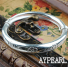 Wholesale Fashion Style Sterling Silver(99.9% Silver) Bangle (With the Pattern of Plum Blossom )