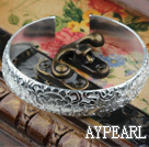 Wholesale Classic Design Sterling Silver(99.9% Silver) Bangle (With Different Pattern )